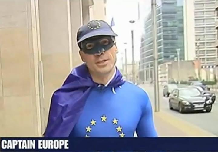 10392411 10152576536252612 3715575994537731449 n Avec l'invention grotesque de « Captain Europe », la propagande européiste prouve qu'elle est aux abois