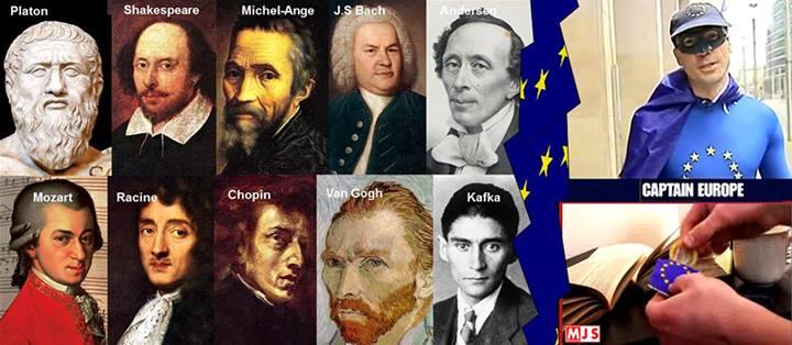 10397288 10152576729772612 4265870195516054090 o Avec l'invention grotesque de « Captain Europe », la propagande européiste prouve qu'elle est aux abois