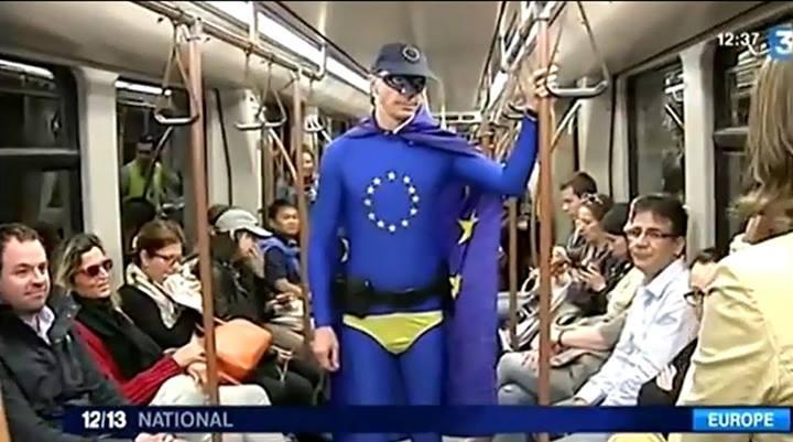 10441916 10152576546387612 2501068505272494746 n Avec l'invention grotesque de « Captain Europe », la propagande européiste prouve qu'elle est aux abois