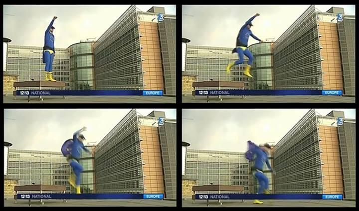 10525991 10152576692457612 3574619857604004837 n Avec l'invention grotesque de « Captain Europe », la propagande européiste prouve qu'elle est aux abois
