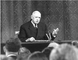 De Gaulle et l'Europe intégrée