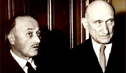 Jean Monnet et Robert Schuman