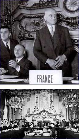 Lecture de la Déclaration Schuman