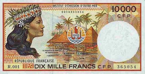 Billet franc pacifique