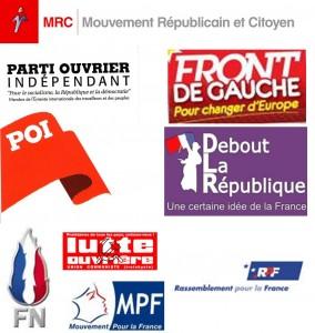 Logo des partis politiques