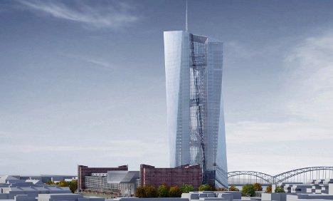 BCE à Franckfort