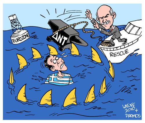 Gr ce l union europ enne la bce et le fmi pr parent le - Requin enclume ...