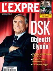 Sondage l'Express. DSK objectif Elysée