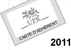 Adhésion UPR 2011