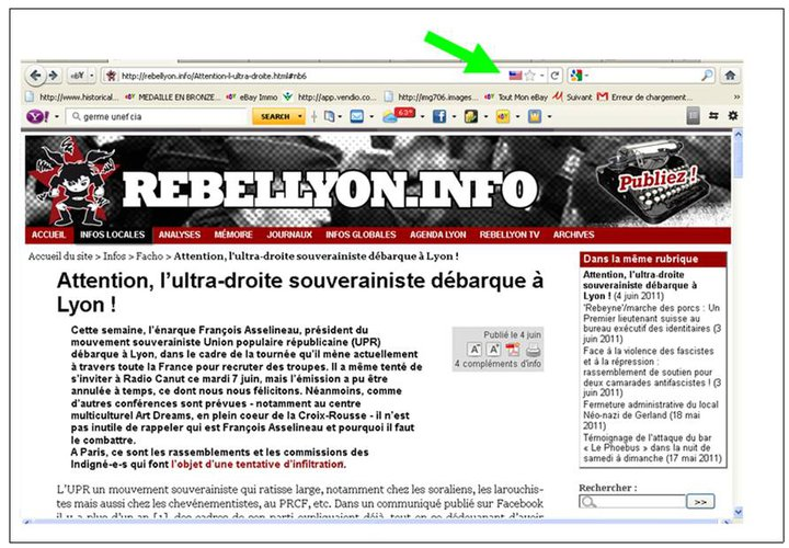 Le site Rebellyon