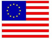 Drapeau USA Europe