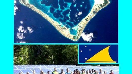 Tokelau electricite solaire