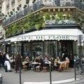 Débat entre François Asselineau et Marc Héré au Café de Flore (Paris)