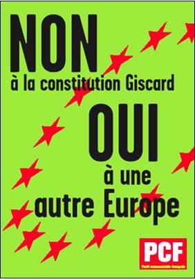 europe pcf Recette pour neutraliser la colère des Français : la promesse de lAutre Europe depuis un tiers de siècle