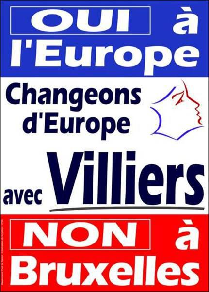 oui europe Recette pour neutraliser la colère des Français : la promesse de lAutre Europe depuis un tiers de siècle