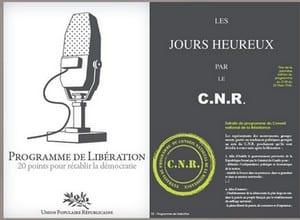 Programme liberation UPR Le 3 décembre venez fêter le 1er anniversaire du programme de libération nationale de lUPR