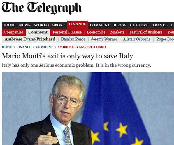 190074 10151360603887612 571357387 n1 Les 2 problèmes de lItalie : Elle na pas la bonne monnaie ni le bon mouvement politique