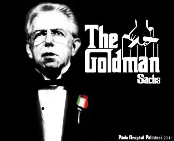 the goldman sachs 600x486 Les 2 problèmes de lItalie : Elle na pas la bonne monnaie ni le bon mouvement politique