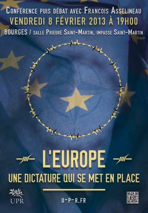 bouges-L'EUROPE, UNE DICTATURE QUI SE MET EN PLACE