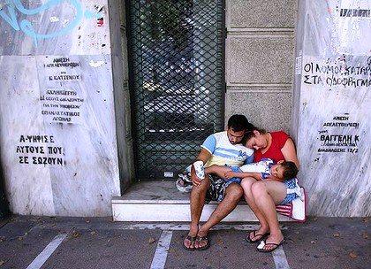 chomage euro grec