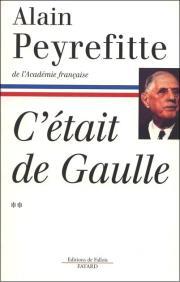 L'extrait ci-dessous est tiré du tome 2 de l'ouvrage C'était de Gaulle, d'Alain Peyrefitte, paru en 1997 chez Fayard (Editions de Fallois), pages 15 et 16.