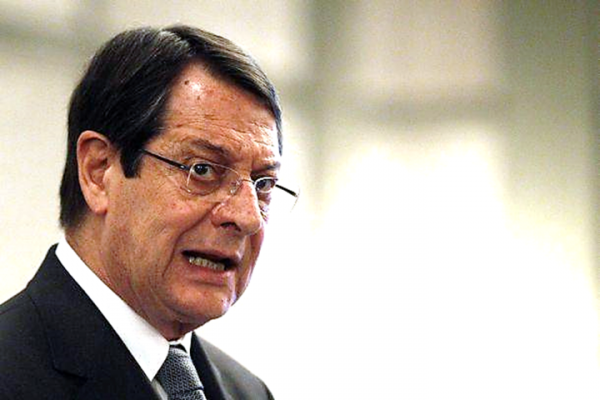 Le président de la République, M. Nicos Anastasiades