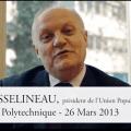 Entretien du mois avec François ASSELINEAU à école polytechnique le 26 mars 2013