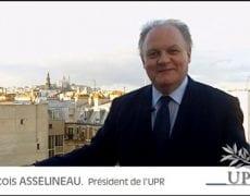 Voeux de François ASSELINEAU, président de l'UPR