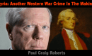 Syrie : Un autre crime de guerre occidental en préparation (par Paul Craig Roberts)