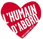Affiches Parti Communiste Français 2013 : « L'humain d'abord  »