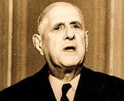 Parti communiste français, de Gaulle politique américaine opération de « colonisation »  décolonisation seconde. indépendance colonies la nôtre. L'Europe occidentale protectorat Américains. domination. s'émanciper. fin de la guerre, Américains assujetti sans résistance. »