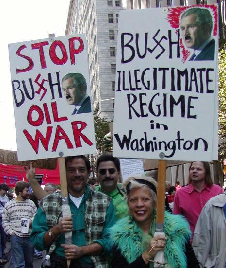bush-hitler-irak