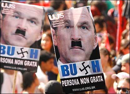 bush-nazi-bresil-rio
