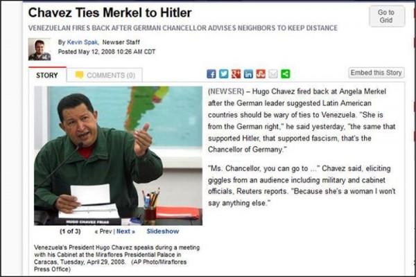 chavez-merkel-hitler