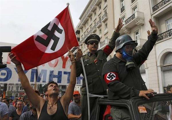 grece-nazi-manifestation