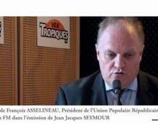 Francois ASSELINEAU sur la radio Tropiques FM le 19/09/2011