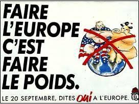 europe faire le poid