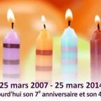 7 ans UPR 25 mars 2007 - 25 mars 2014