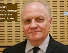 François Asselineau interrogé par l'Agence Info Libre sur l'Ukraine