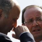 Francois-Hollande-et-Laurent-Fabius