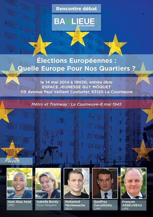 Rencontre-débat Banlieue + (plus) à La Courneuve
