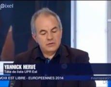 Yannick Hervé dans « La voix est libre » sur France 3 Alsace