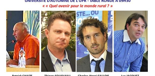 Table ronde n° 1 - Quel avenir pour le monde rural ?
