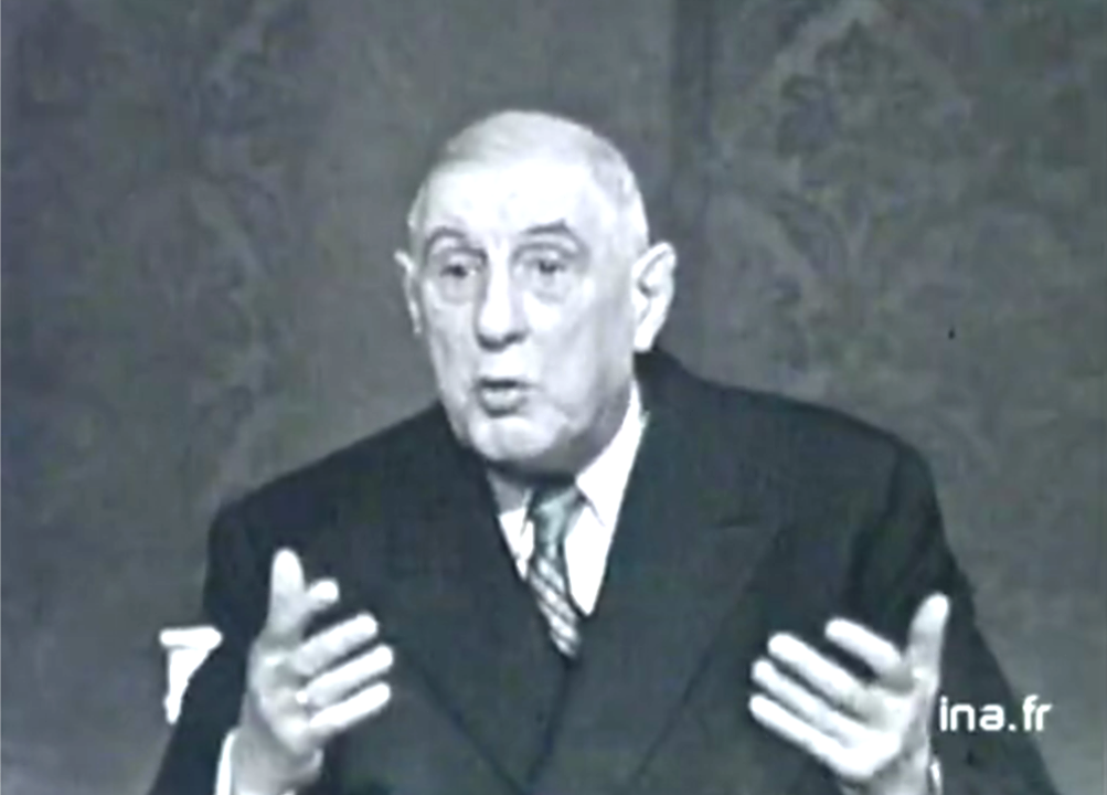 charles de gaulle How charles de gaulle's story became a collective fairy tale that the french have agreed to believe in.