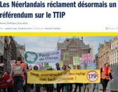 referendum TAFTA pays bas