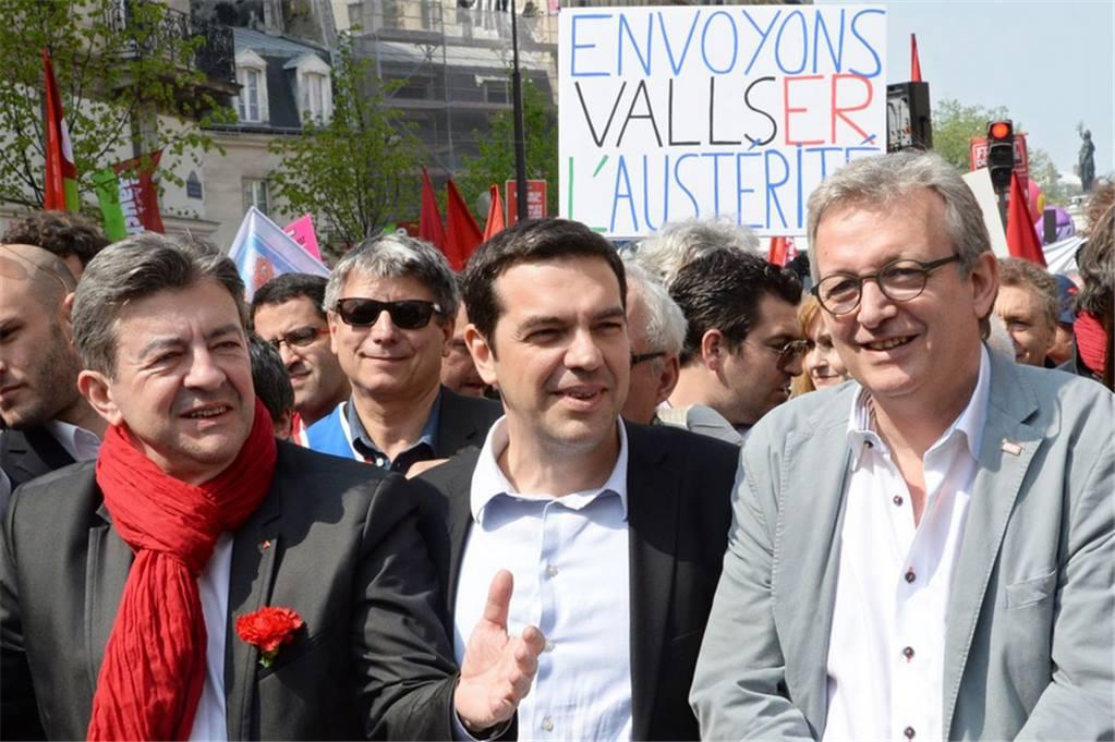 tsipras-melenchon-laurent-grexit