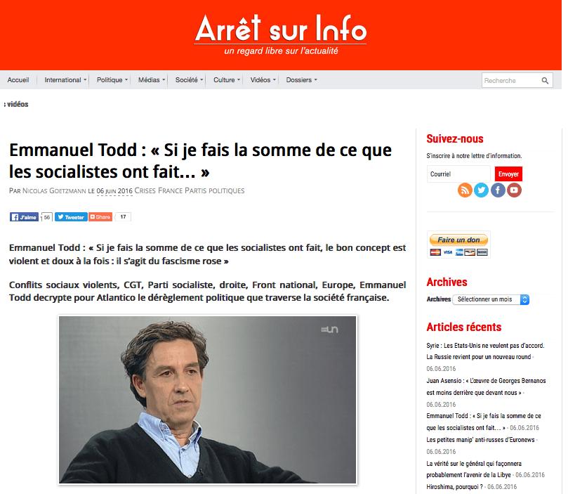 Emmanuel Todd-socialistes