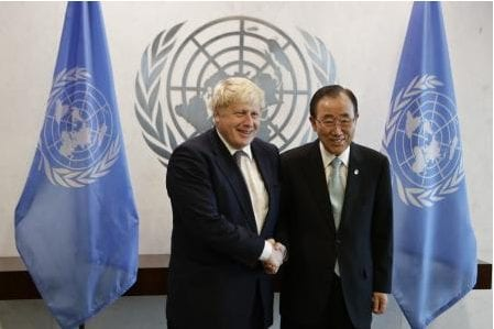 Boris Johnson ONU