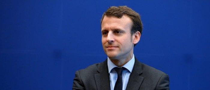 Emmanuel Macron. ERIC PIERMONT/AFP