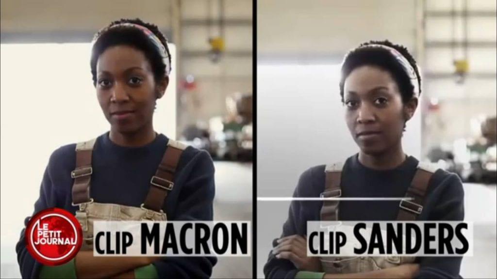 Le clip Macron est à la fois une escroquerie morale et un plagiat maladroit.